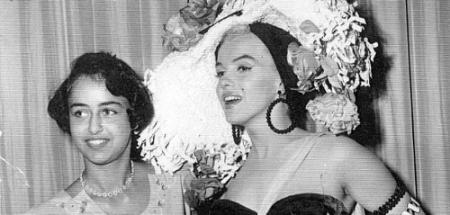 Jane Lawrence e Marilyn Monroe